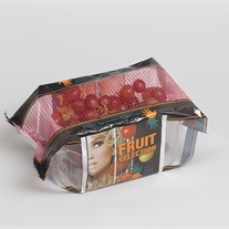 grapes - plastic tray with flowfresh film