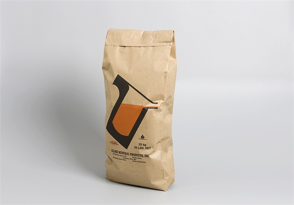 Pinch-bottom paper bag