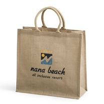 shopping bag - jute